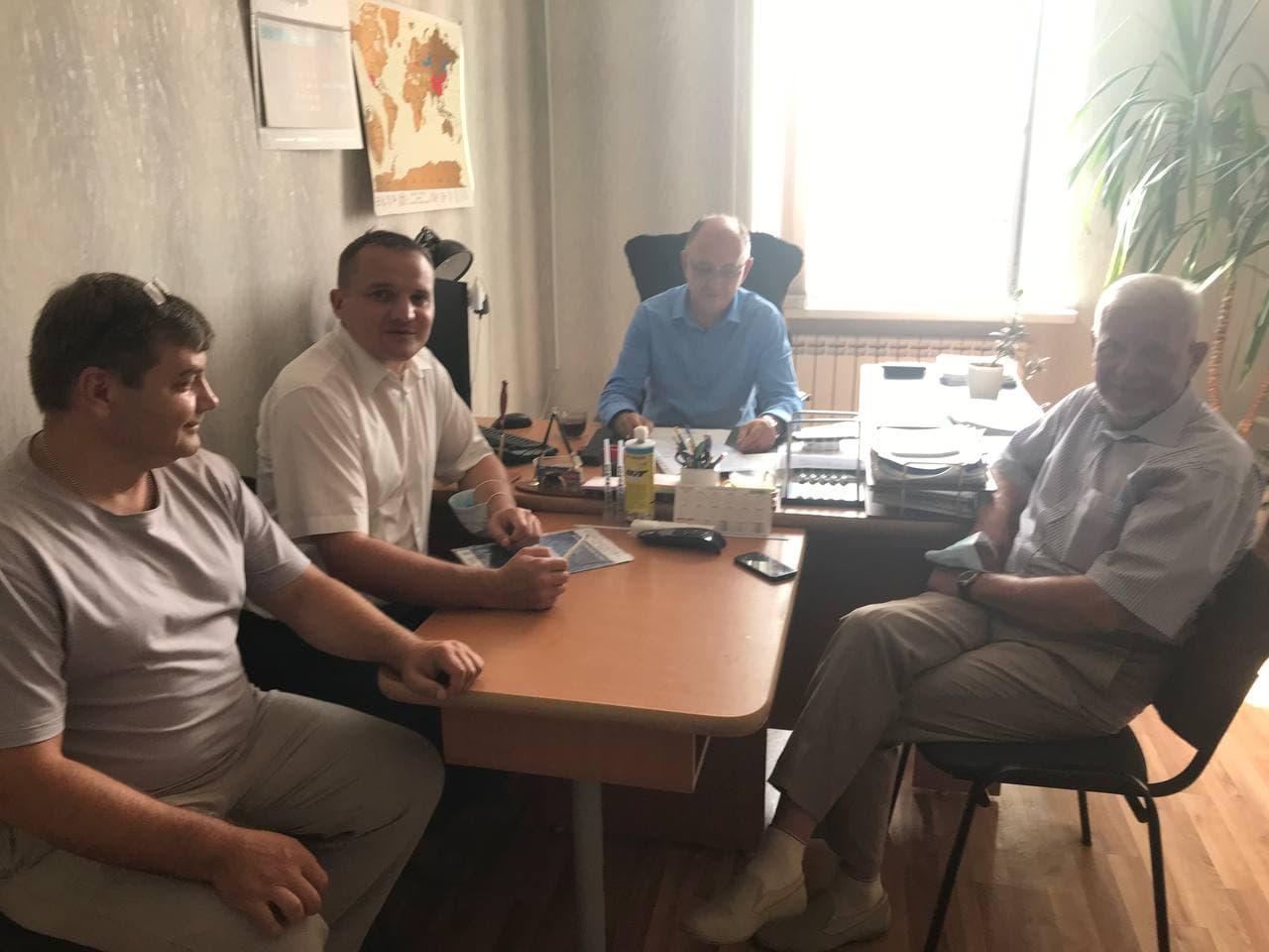 Рабочий визит в город Нефтекамск